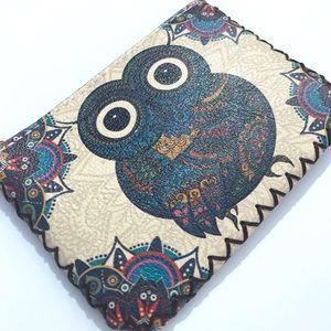 """Handbags - Coin Purse - Owl - 5"""" x 3.5"""""""